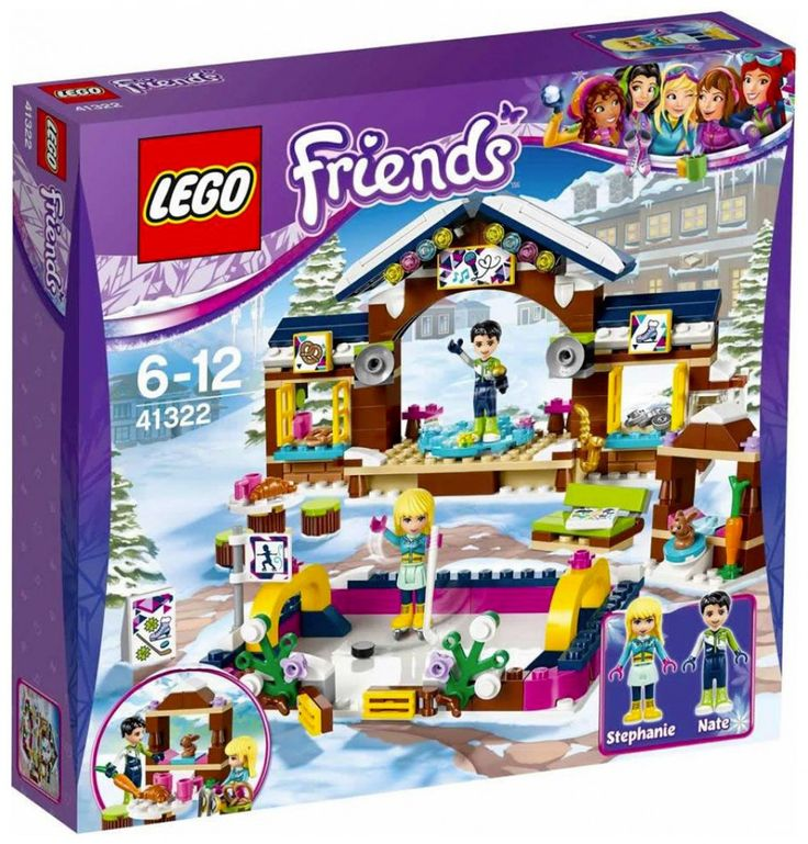 LEGO Friends 41322 : La patinoire de la station de ski - Juin 2017