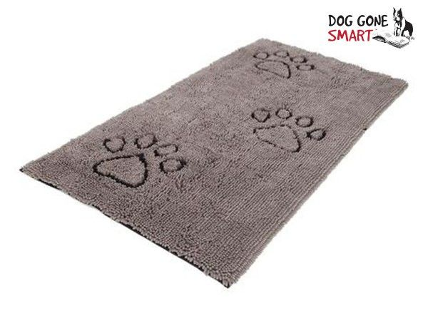 Dog Gone Smart Floor Runners are must-haves for dogs who love to track dirt indoors. They are made with an advanced microfiber technology that instantly traps water, snow, and mud. Each Floor Runner is 60
