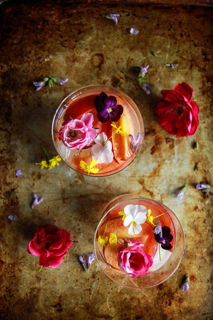 Nectarine Vodka Lemonade from HeatherChristo.com