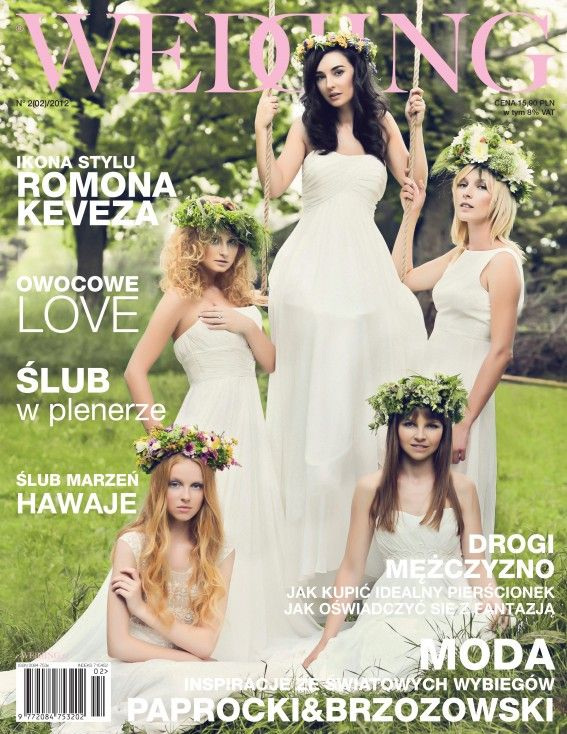 owocowe love - nasz artykuł w Wedding! :)
