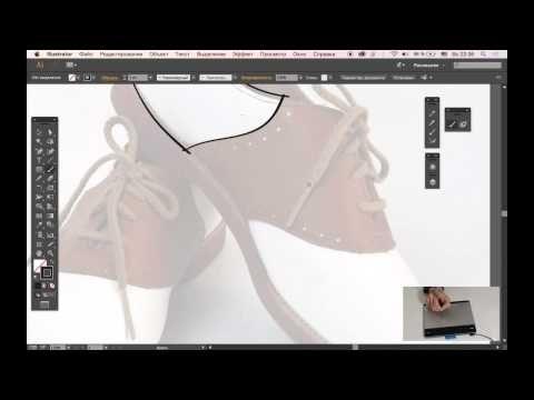 ▶ Создание иллюстрации с помощью планшета Intuos Pen&Touch small - YouTube