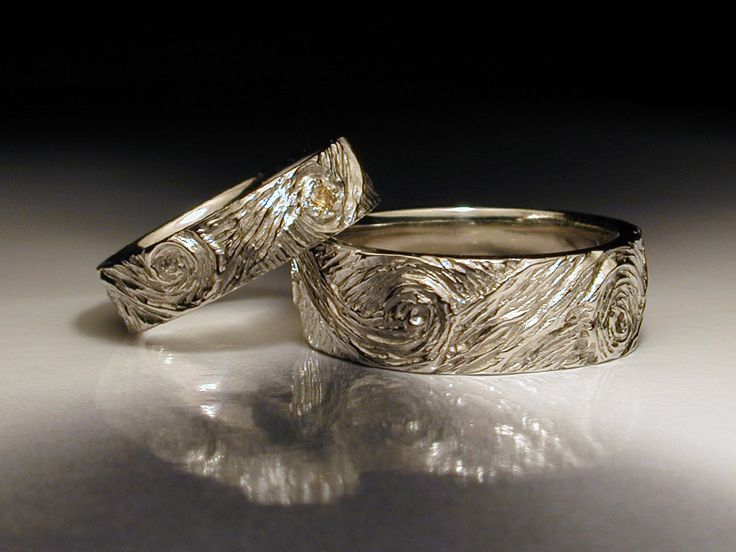 17 Best ideas about Unusual Wedding Rings on Pinterest Natural