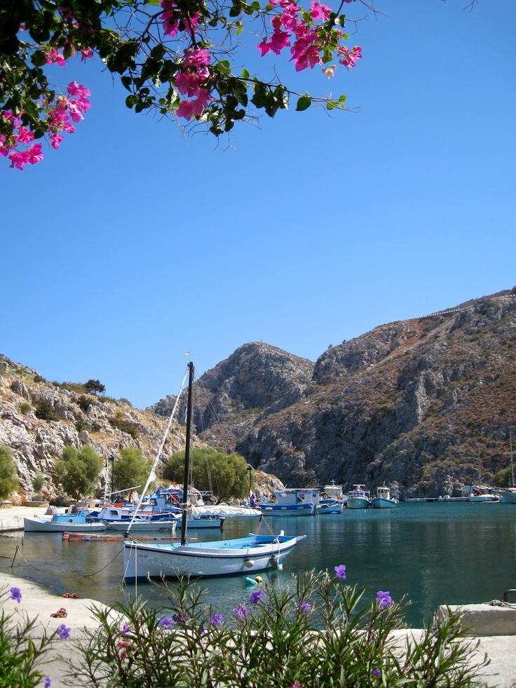 Vathi, Kalymnos, Greece; BRIAN SIBLEY : his blog