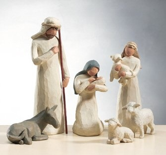 Willow Tree Nativity Set- I have always loved this. One day I will buy it <3