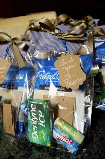 I gave gifts for the nurses when I was pregnant with Grant- definitely doing it again! I like the way these are packaged.