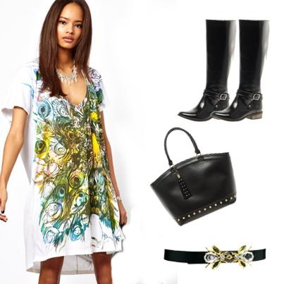 Si eres una mujer que le gusta la elegancia y la exclusividad para su día a día, este look te encantará