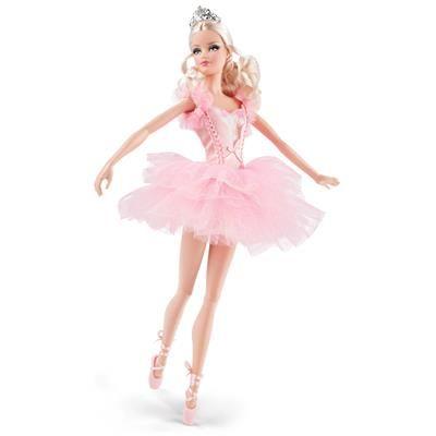 Boneca Barbie Colecionável - Aniversário Ballet - Mattel