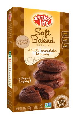 Soft Baked Cookies, Double Choclate Brownie (6oz)