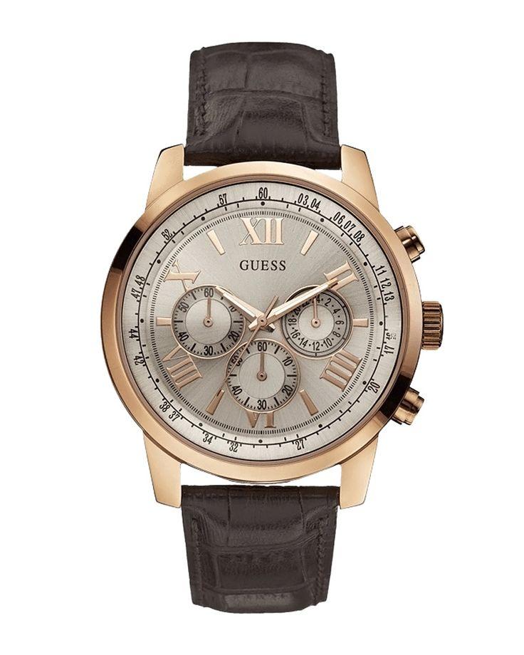 Ρολόι Guess Gold Chrono W0380G4