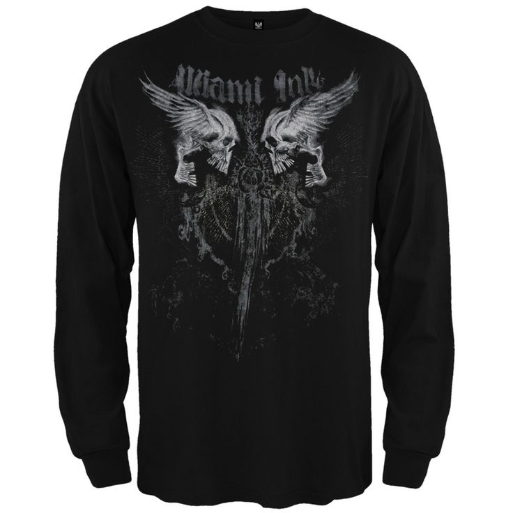 Miami Ink - Dragged Long Sleeve T-Shirt