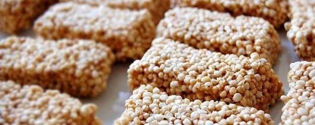Bocaditos dulces de quinoa |