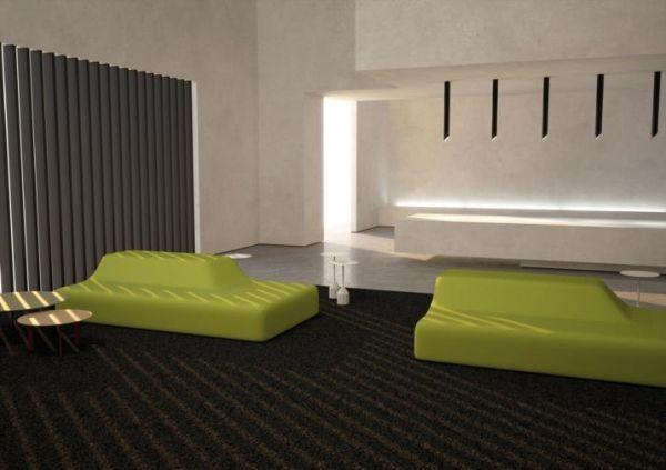 Divano Season design Piero Lissoni per Viccarbe