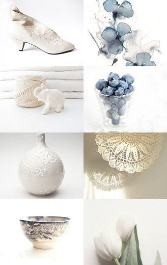 'classic blue and white' --Pinned with TreasuryPin.com