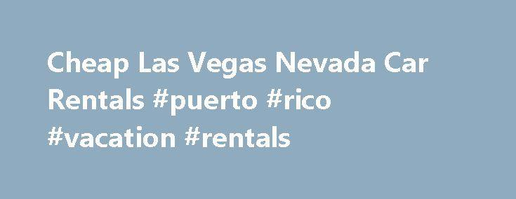 Cheap Car Rentals Las Vegas Nevada Airport