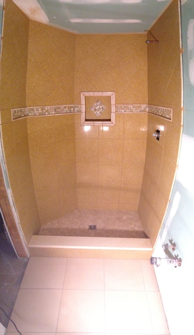 Tile work in bathrooms - Small Bathroom Stand Up Shower