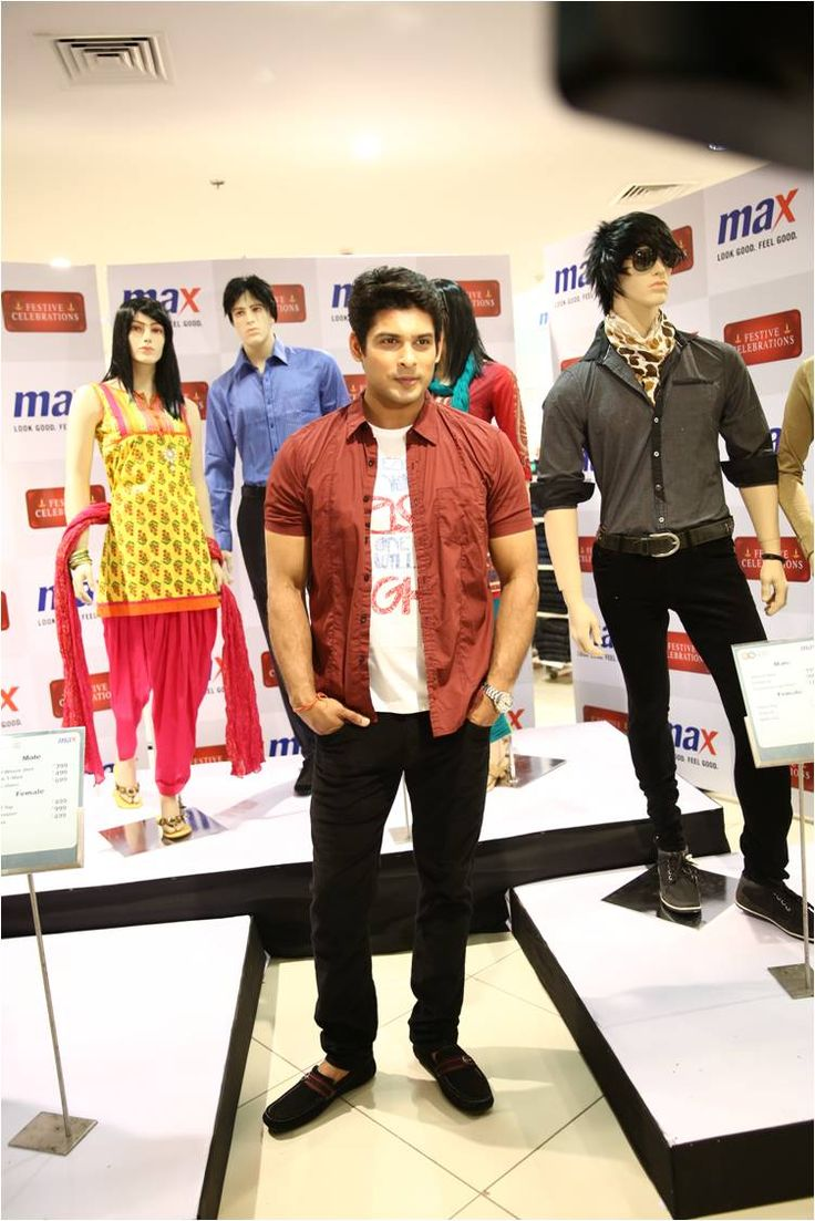 Sidharth Shukla at Max