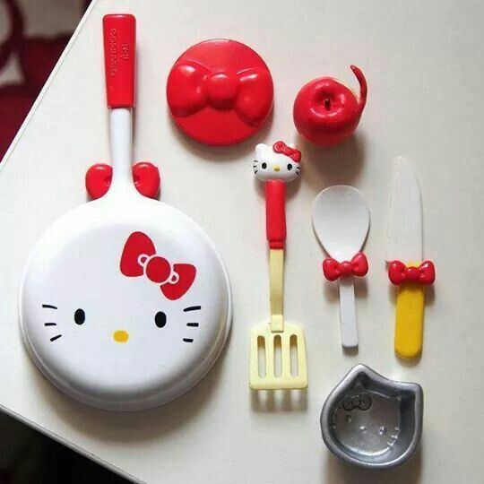 Hello Kitty Mini Kitchen Set: 4057 Best Barbie Dollshouse And Diorama Images On