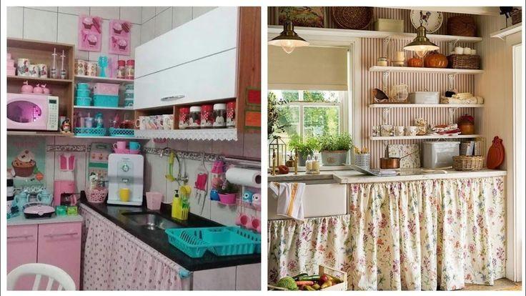 مطابخ صغيرة وبسيطة مرتبة بشكل جميل لمعرفة استغلال المساحة الضيقة Home Decor Home Furniture