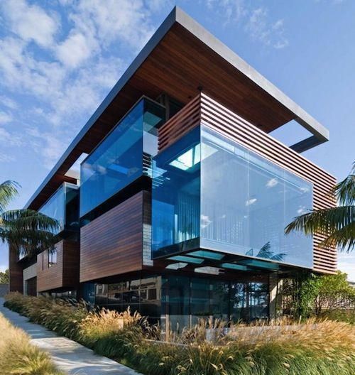 Architecture — The Ettley Residence, California's Pacific Coast,...