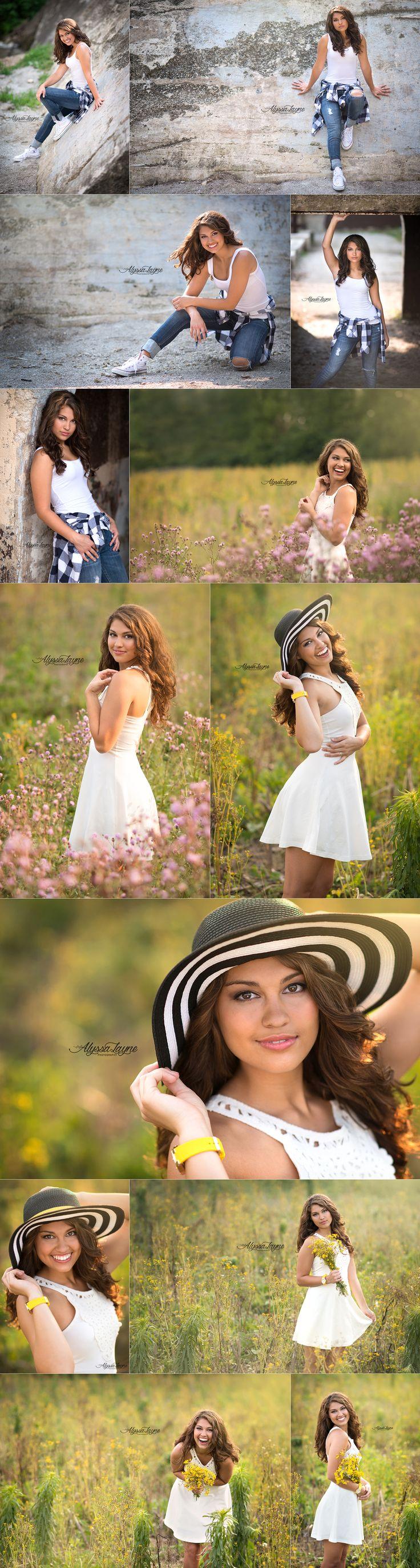 Jessica | Senior Poses | Senior Pictures | Class of 2015 | Illinois Senior Photographer | Alyssa Layne Photography