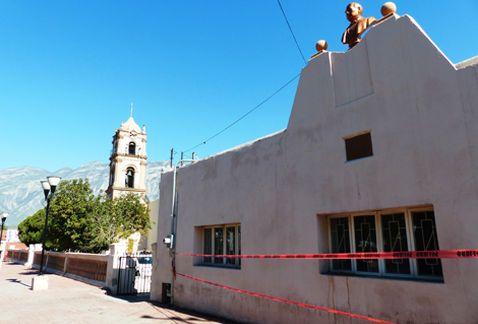 Con charlas, recordarán paso de Benito Juárez por NL. Imagen: La casa donde Juárez se alojó el 10 de febrero, en el municipio de Santa Catarina.