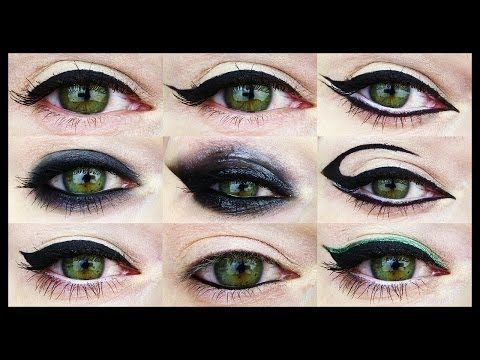 Essential Eyeliner Techniques: Defined, Winged or Smoky - YouTube