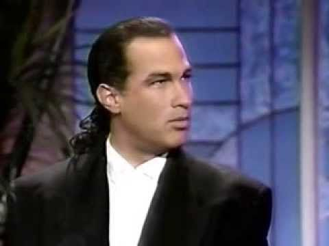 Steven Seagal and Kelly LeBrock on Arsenio Hall Show promoting ...