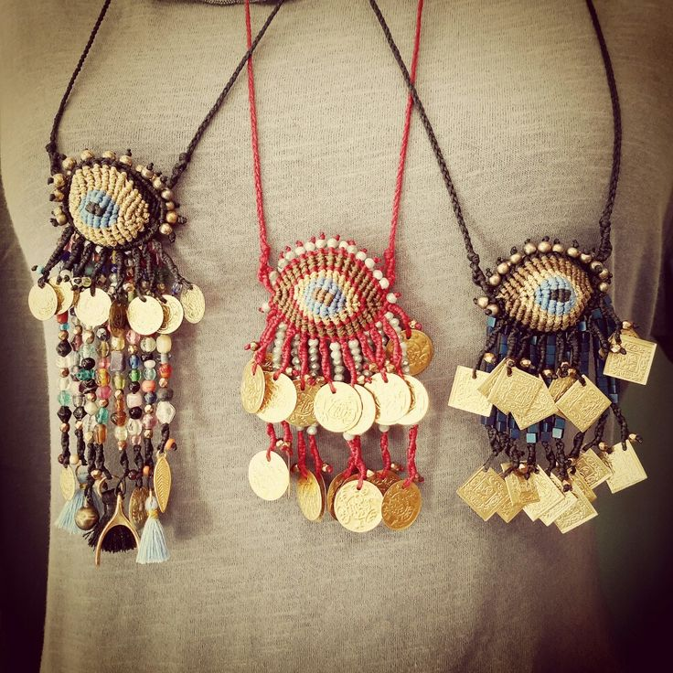 Bohostyle necklaces  #frolicstones #madeingreece #evileye #ματακι #bohochic #bohemianstyle #instaboho #bohojewelry #lovejewelry #gypset #κολιέ #κομψοχιπι #μποεμ #στυλχιπι #τσιγγανικοστυλ #hippieboho #jewelryblogger #hematite #αιματιτης #coins #φλουρια