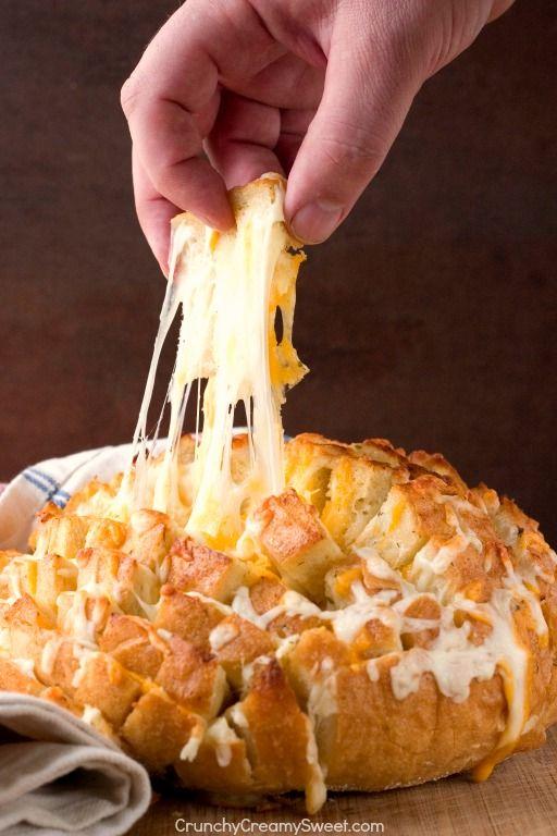 Easy Cheesy Pull Apart Bread