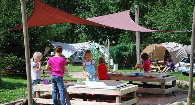 Camping Les Trexons - Gezinscamping met 2 sterren in Gerbépal, de Vogezen.