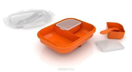 """Philips Avent Контейнер для детского питания дорожный SCF724/00  — 1050р.  Набор контейнеров для хранения питания """"Avent"""" существенно поможет вам во время подкорма, поскольку позволит сохранить излишки питания. Контейнеры выполнены из легкого полиэтилена, они легко моются, в том числе в посудомоечной машине, их можно стерилизовать. Герметичные крышки обеспечивает гигиеничное хранение питания. В комплекте большой контейнер с крышкой, два малых контейнера с крышками, а также ложка и маленький…"""