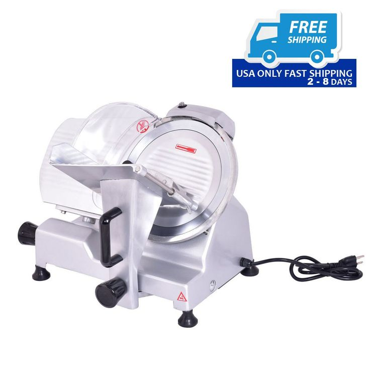 """10"""" Blade Commercial Meat Slicer Deli Meat Cheese Food Slicer Industrial Quality!"""