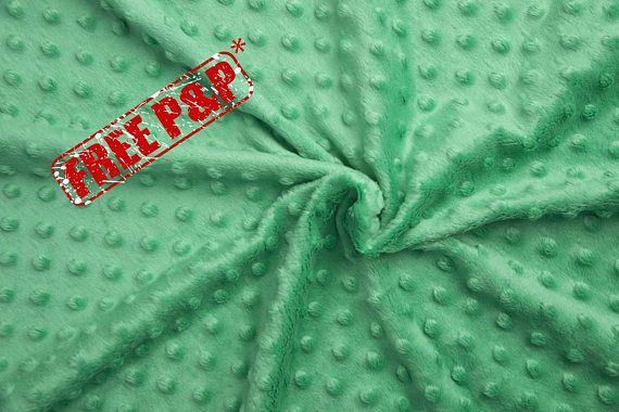 Minky plush fabric, minky dimple, green dot plush, kids room ... : quilting supplies wholesale - Adamdwight.com