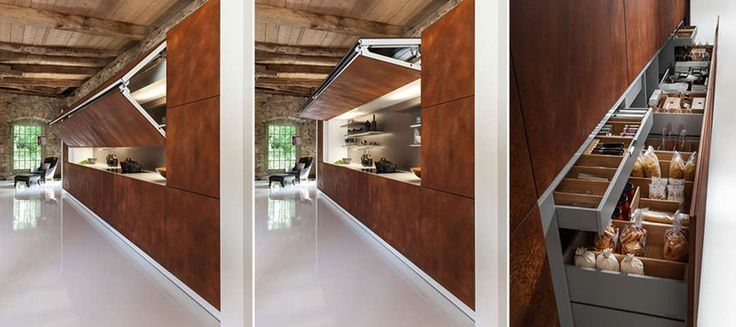 The Art of Hiding: A Kitchen That Tucks Away - Architizer