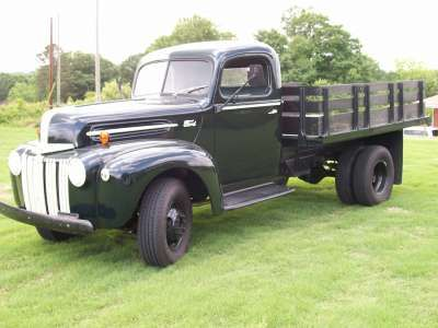 1947 Ford Pickup 1/2 Ton Truck with 9 ft Flatbed