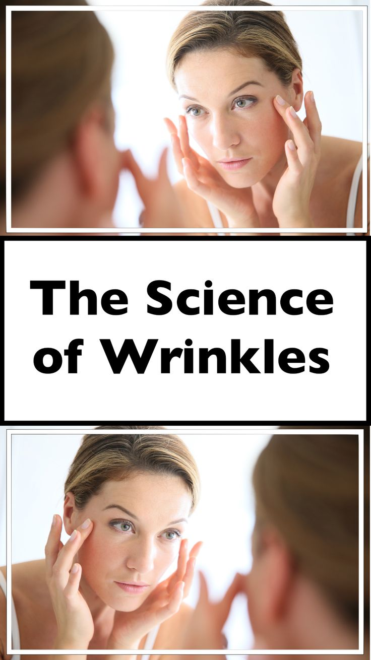 Let's really explore what causes skin to wrinkle with age and what we can do about it.
