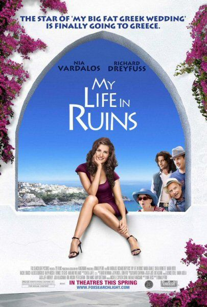 "My Life In Ruins...not as successful as ""My Big Fat Greek Wedding"", but entertaining nonetheless."