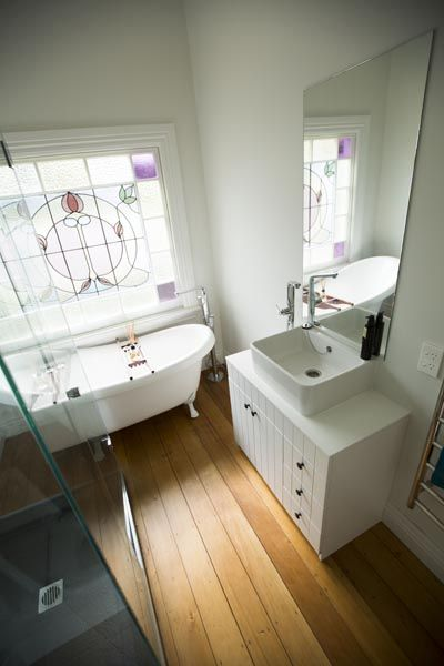 Alisa and Koan's Bathroom and Laundry - Room Reveals - Alisa and Koan - Teams - The Block NZ - Shows - TV3 - wtf the sink cabinet has been changed????????????