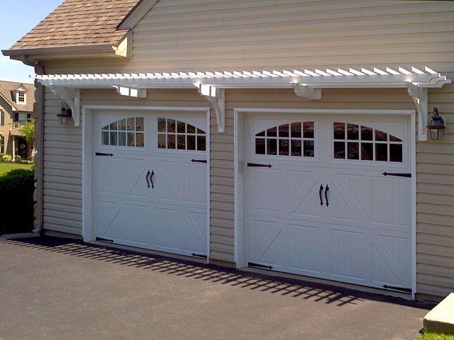 Best 25 garage trellis ideas on pinterest garage door for Eyebrow pergola plans