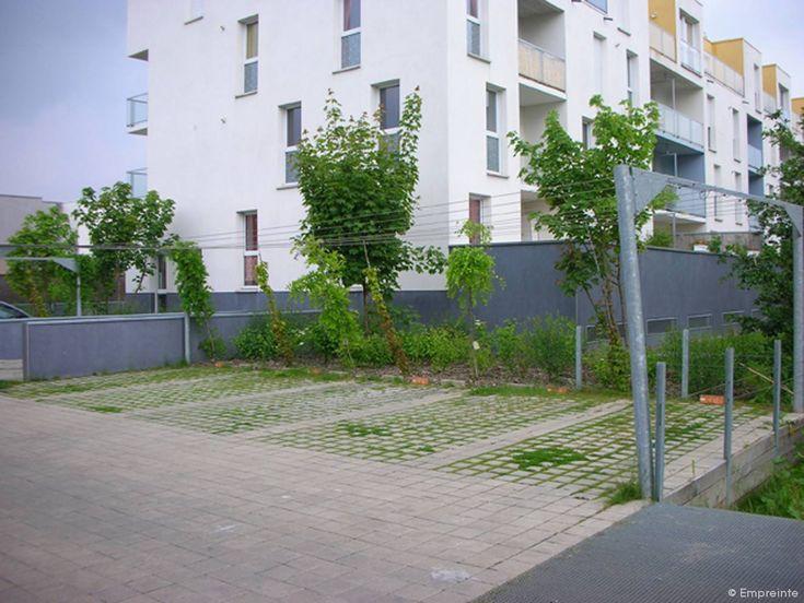Quartier De La Haute Borne   Empreinte   Bureau De Paysages · Car ParksCollege  ...