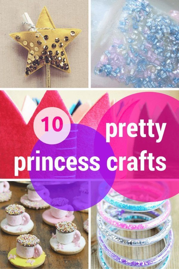 10 pretty princess crafts & activities: wands, glitter, crowns, sparkle jewellery, sweet teacups & more!