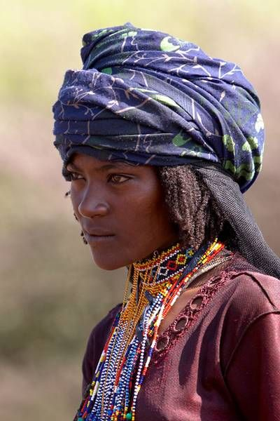 Africa | 'Borana beauty'.  The Oromo people consist of four main groups, the Borana is one of them.  Southern Ethiopia | ©  Johan Gerrits.