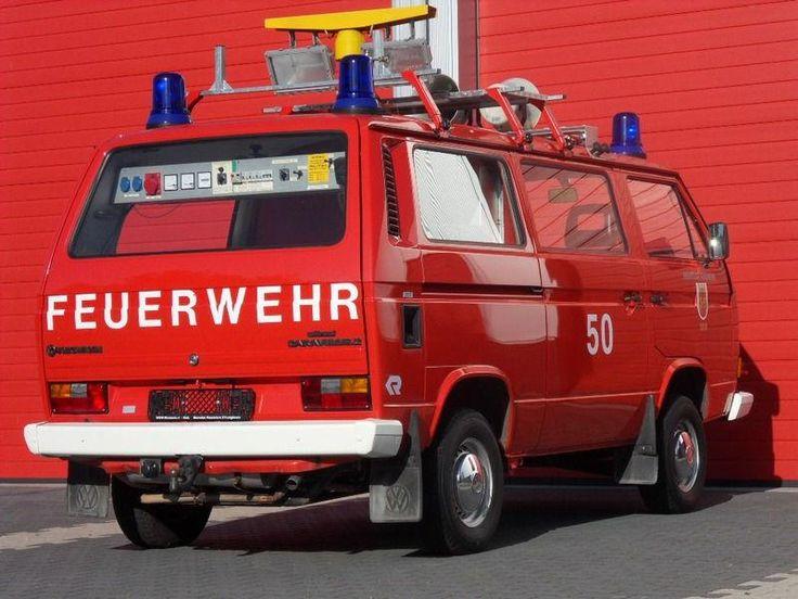 German Syncro Feuerwehr truck