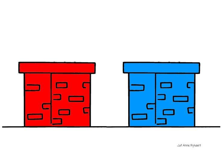 Kleurenspel/ 1-1 relatie