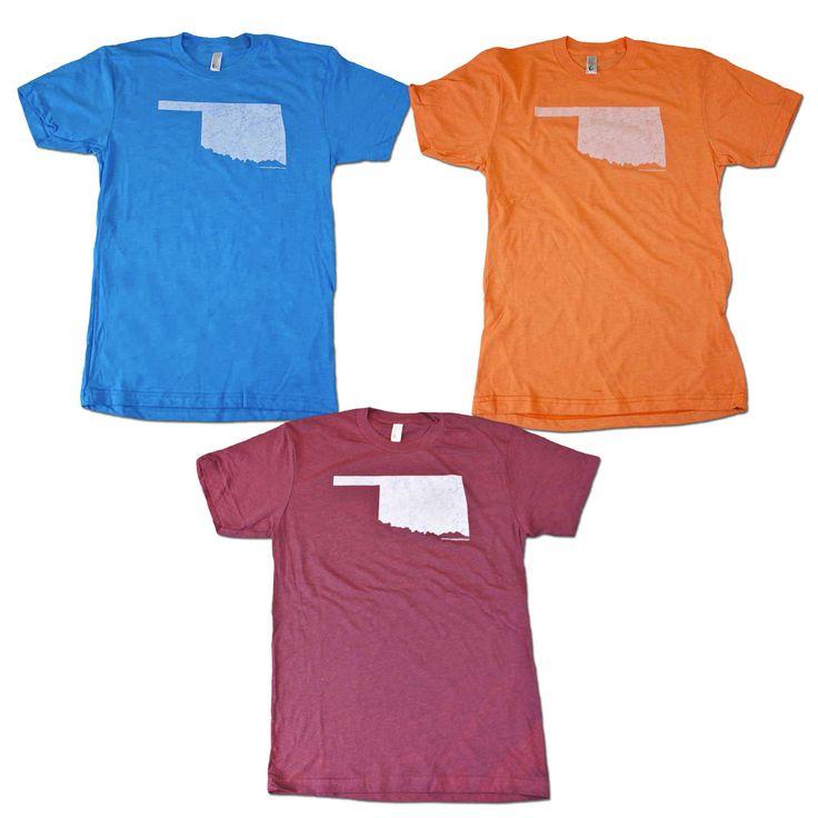 oklahoma flag shirts