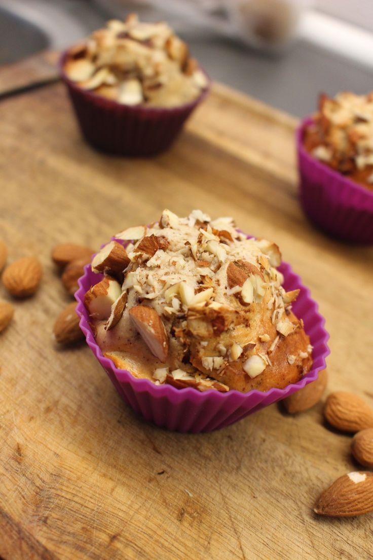 Vanilje og kokos protein muffins