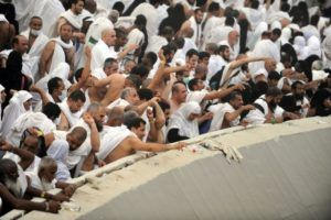 Chen asks what is the logic of throwing the stones at Satan in Hajj? Our sheikh advises here: