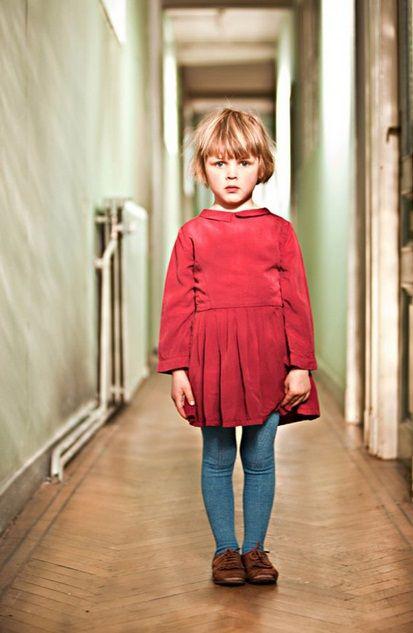 Morley #girl's #dress #red