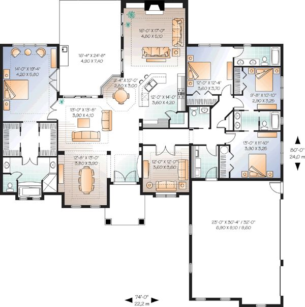 Universal Design House Plan House And Home Design