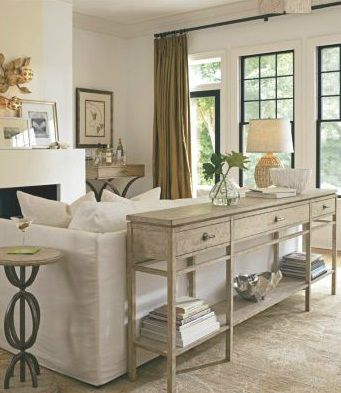 love this sofa table. would be great in our entrance way